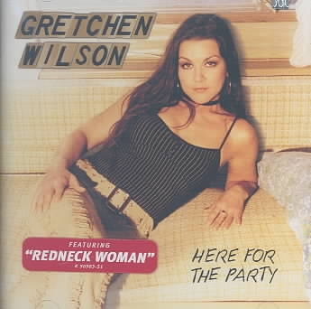 HERE FOR THE PARTY BY WILSON,GRETCHEN (CD)