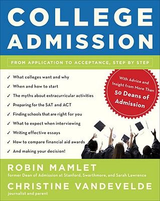 College Admission By Mamlet, Robin/ Vandevelde, Christine
